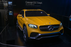 Mercedes-Benz GLC Coupe Concept - world premiere. Stock Photography