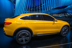 Mercedes-Benz GLC Coupe Concept - world premiere. Stock Photos