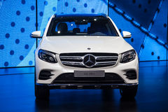 Mercedes Benz GLC 350 e at the IAA 2015 Royalty Free Stock Images
