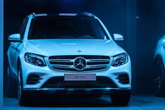 Mercedes Benz GLC 350 e at the IAA 2015 Royalty Free Stock Photos