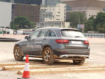 Mercedes-Benz GLC Off-road Test Drive Day Royalty Free Stock Photos