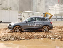 Mercedes-Benz GLC Off-road Test Drive Day Stock Photo