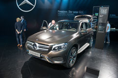 Mercedes-Benz GLC - world premiere. Stock Photo