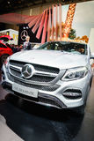 Mercedes-Benz  GLE 350 d 4MATIC , Motor Show Geneve 2015. Stock Photo