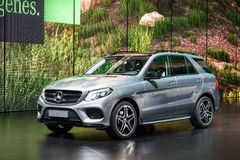 Mercedes Benz GLE at the IAA 2015 Royalty Free Stock Photos
