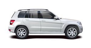 Mercedes Benz GLS SUV images stock