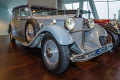Mercedes-Benz 770 Grand Mercedes convertible F, 1932. Royalty Free Stock Images