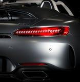 Mercedes-Benz GT-C AMG 6 3 dettagli esteriori immagini stock libere da diritti