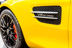 The Mercedes Benz GTS Royalty Free Stock Images