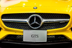 The Mercedes Benz GTS Stock Images