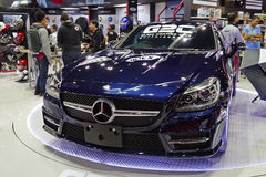 Mercedes-Benz GTS on display at The 36 th Bangkok International Royalty Free Stock Photography