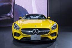 Mercedes Benz GTS framdel Arkivbild