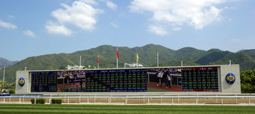 MERCEDES-BENZ Hong Kong Derby 2012 Stockbild