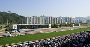 Mercedes-Benz Hong Kong Derby 2012 Stock Photography