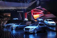 Mercedes Benz at the IAA 2013 Royalty Free Stock Photography