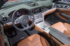 Mercedes Benz interior Stock Photography