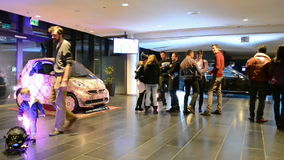 Mercedes Benz Kiev Fashion Days (MBKFD) 2014 in Ki stock footage