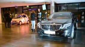 Mercedes Benz Kiev Fashion Days (MBKFD) 2014 in Kiew, Ukraine, stock footage