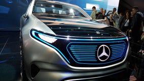 Mercedes Benz Limosine-beperkt VIP Stock Afbeelding