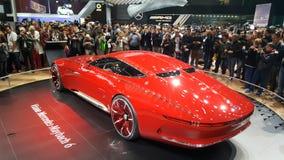 Mercedes Benz Limosine-Promi Lizenzfreies Stockfoto