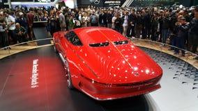 Mercedes Benz Limosine-Promi Lizenzfreie Stockfotos