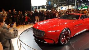 Mercedes Benz Limosine-VIP Stock Afbeeldingen