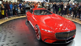 Mercedes Benz Limosine-VIP Royalty-vrije Stock Fotografie