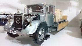 Mercedes Benz LO2750 transporter scale model car Stock Photos