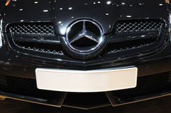 Mercedes benz logo Royalty Free Stock Images
