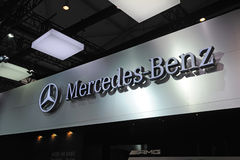 Mercedes benz  logo Stock Photo