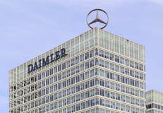 Mercedes Benz Logo Foto de archivo
