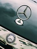 Mercedes Benz Logotype Stock Photography
