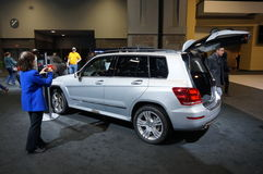 2015 Mercedes Benz Luxury SUV Royalty Free Stock Photography