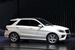 Mercedes Benz M-Class SUV Stock Images