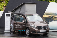 Mercedes Benz Marco Polo at the IAA 2015 Royalty Free Stock Photography