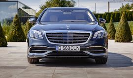 Mercedes-Benz Maybach 2017 fotografia stock