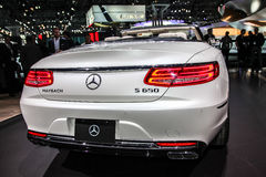 Mercedes- Benz  Maybach S 650 cabriolet Stock Image