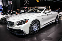 Mercedes- Benz  Maybach S 650 cabriolet Royalty Free Stock Photo