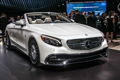 Mercedes- Benz  Maybach S 650 cabriolet Stock Photography