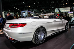 Mercedes- Benz  Maybach S 650 cabriolet Stock Photo