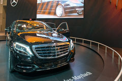 Mercedes Benz Maybach S600 Royalty Free Stock Image