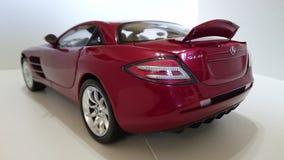 Mercedes Benz McLaren SLR model car royalty free stock photos