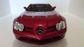 Mercedes Benz McLaren SLR model car Stock Images