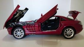 Mercedes Benz McLaren SLR model car Royalty Free Stock Images