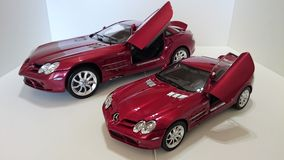 Mercedes Benz McLaren SLR model cars Royalty Free Stock Photo