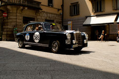 Mercedes Benz 220A at Mille Miglia 2016 Royalty Free Stock Photography