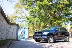 Mercedes-Benz ML-Class BlueTec 2014 Model Stock Photography