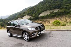Mercedes-Benz ML500 classe ml SUV 2012 Immagini Stock