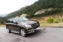 Mercedes-Benz ML-grupp ML500 SUV 2012 Arkivbilder