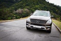 Mercedes-Benz ML-grupp ML500 SUV 2012 Arkivbild